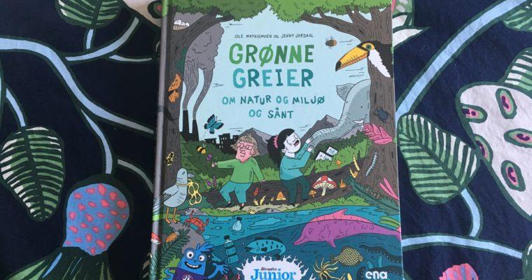 Levende og lærerikt tegneserieverk. Av Ola Mathismoen/ Jenny Jordahl (ill.)