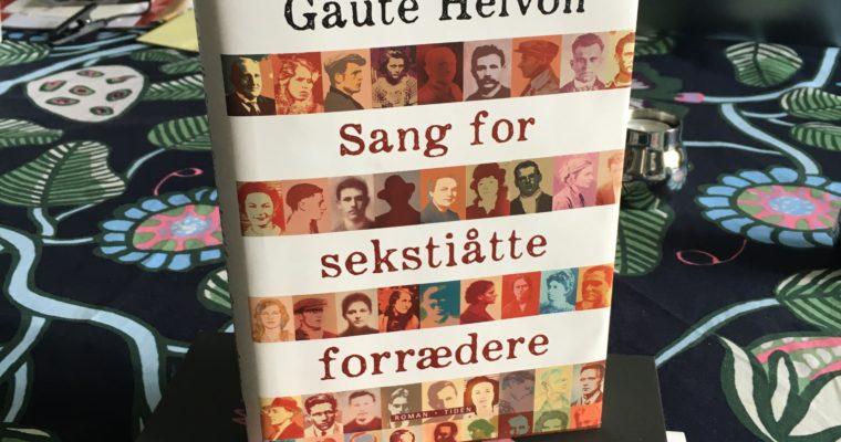 MENNESKE MOT MENNESKE. SANG FOR SEKSTIÅTTE FORRÆDERE AV GAUTE HEIVOLL