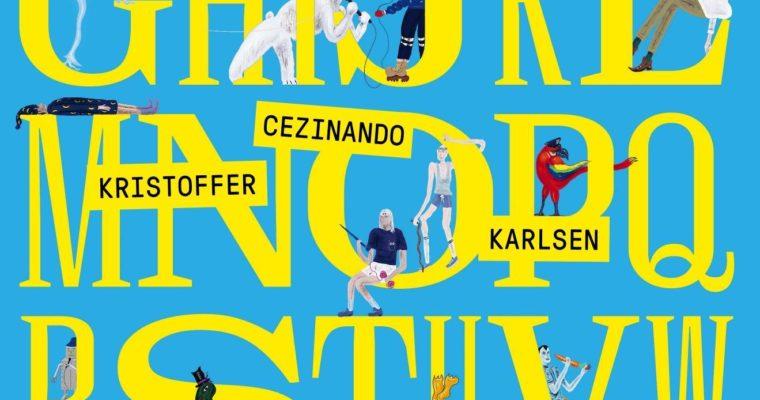 Artisten Cezinando debuterer med fartsfylt barnebok om bokstaver